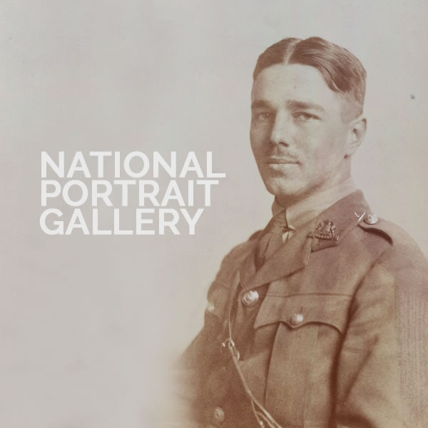 World War I National Portrait Gallery show announced