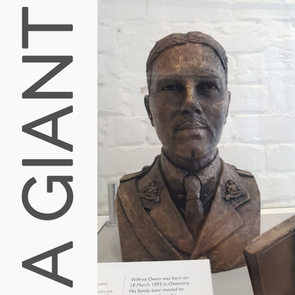 A giant Wilfred Owen?