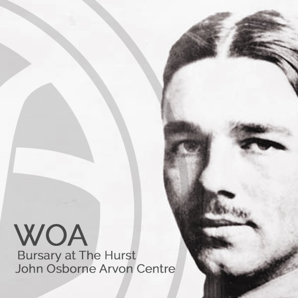 Wilfred Owen Association Bursary at The Hurst: The John Osborne Arvon Centre