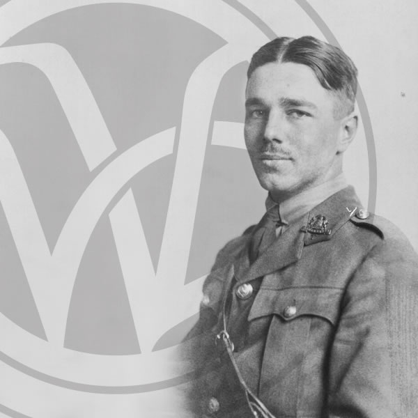 Ceremony for naming of Oswestry town green after Wilfred Owen