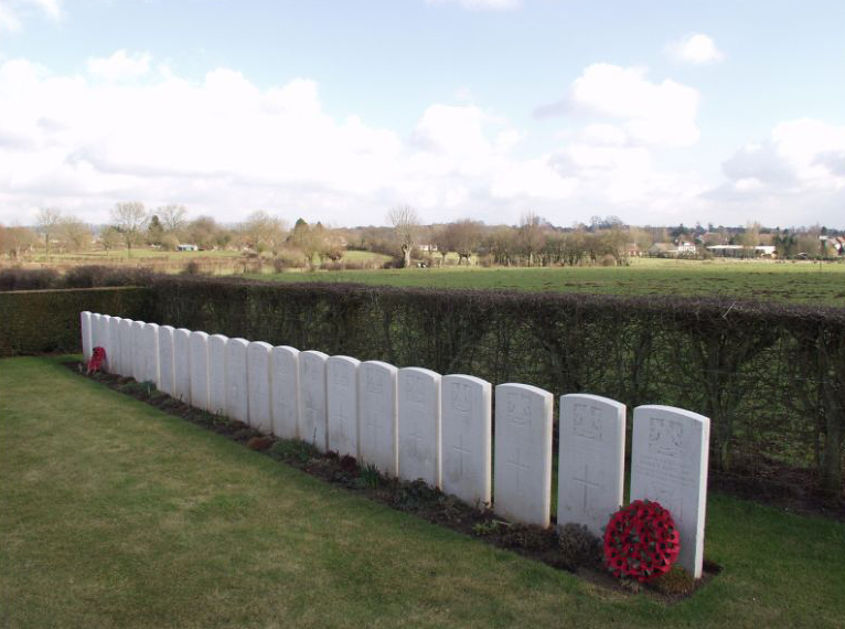 Wilfred Owen's Grave at Ors Cemetery
