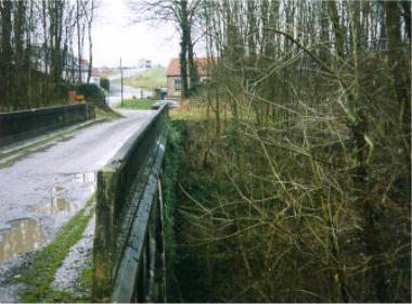 The Riqueval Bridge from above